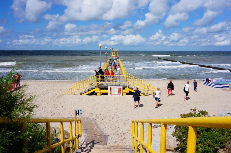 Entrada de la playa imágenes de archivo libres de regalías