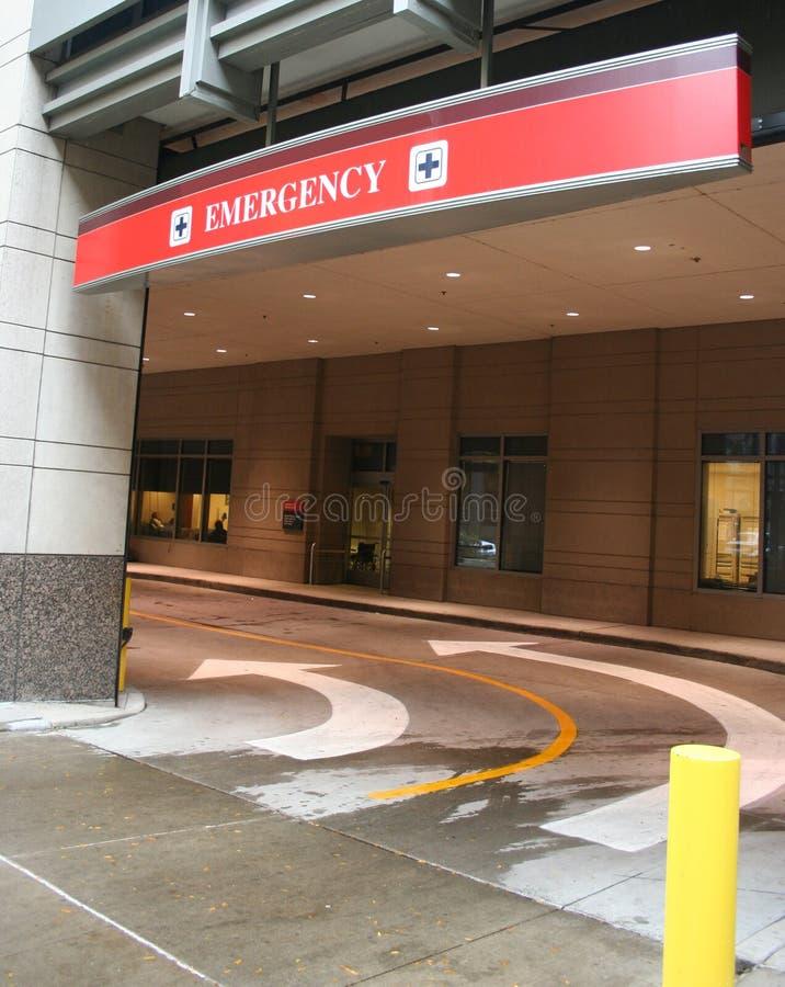 Entrada de la sala de urgencias imágenes de archivo libres de regalías