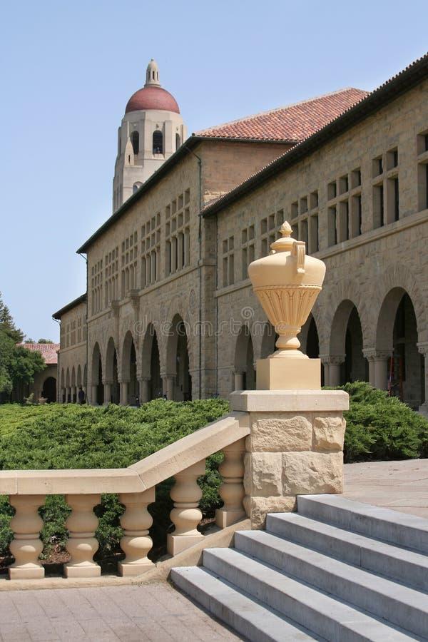 Entrada de la Universidad de Stanford fotografía de archivo libre de regalías