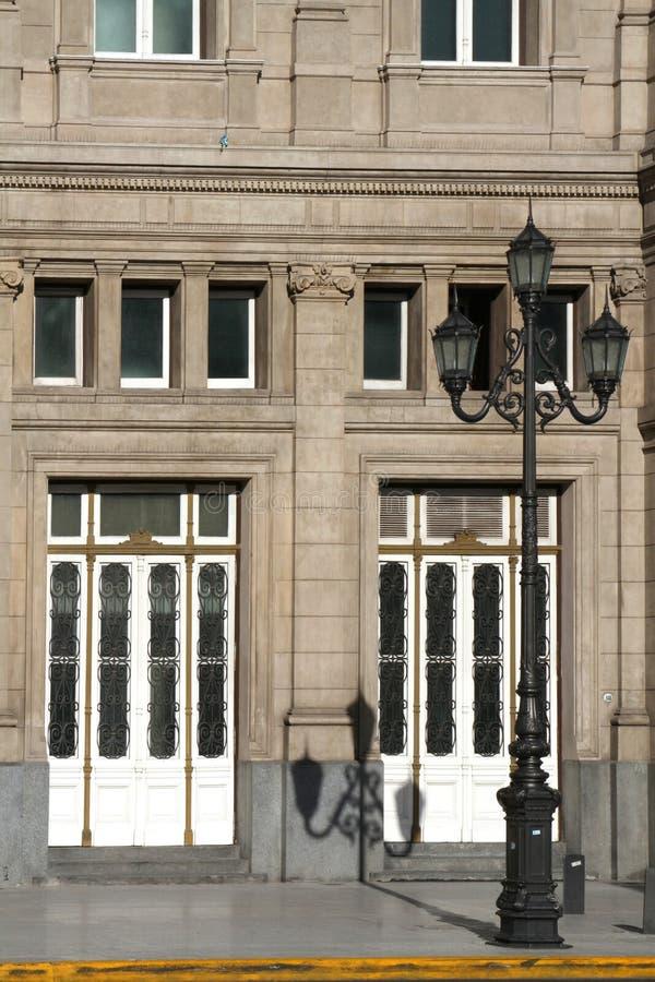 Entrada de los dos puntos de Teatro imagenes de archivo