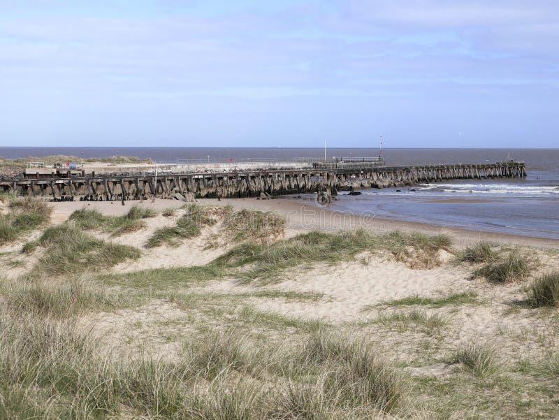 Entrada de porto Walberswick - Suffolk imagem de stock royalty free