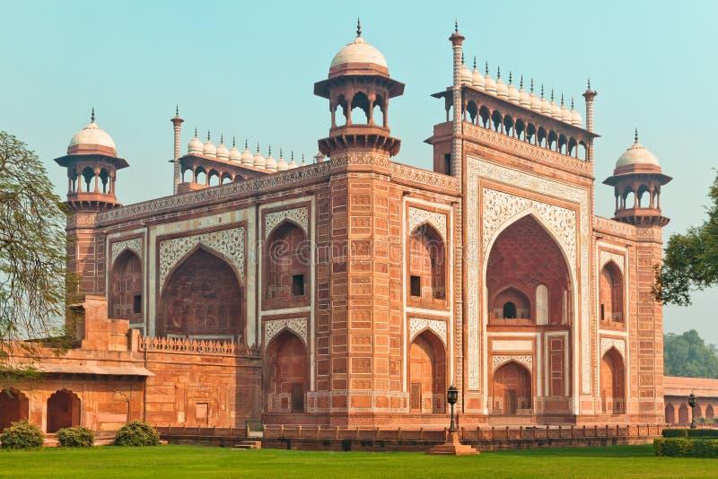 Entrada de Taj Mahal Main fotografía de archivo libre de regalías