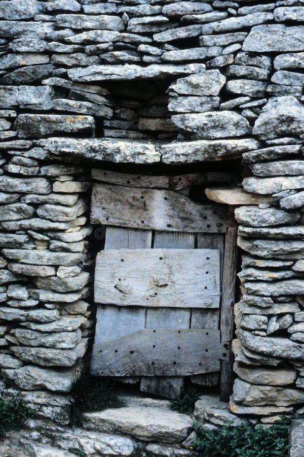 Entrada de un refugio de los shephard fotos de archivo libres de regalías