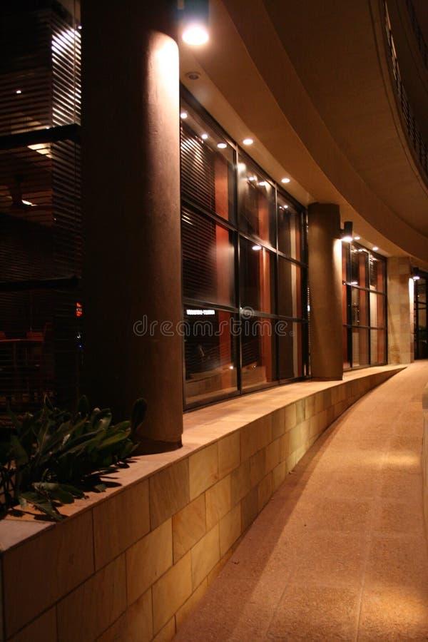 Entrada del hotel imagen de archivo