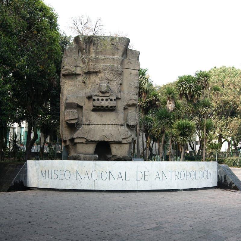 Entrada del Museo Nacional de la antropología foto de archivo libre de regalías