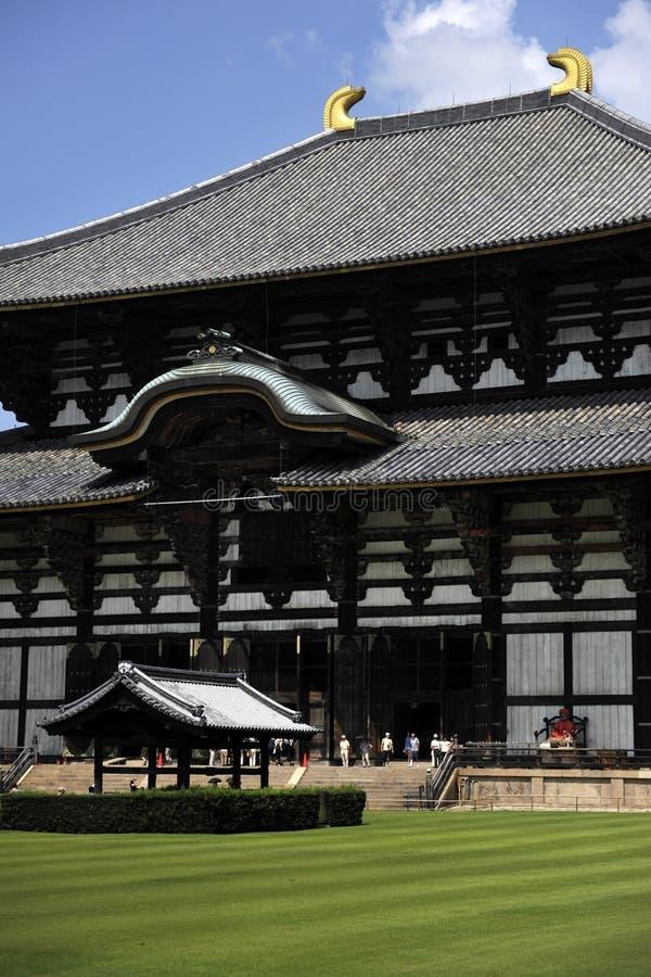 Entrada del templo de Todai imágenes de archivo libres de regalías