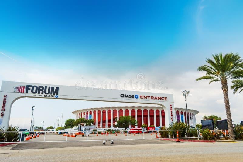 Entrada do fórum de Great Western pela corte de Kareem foto de stock royalty free