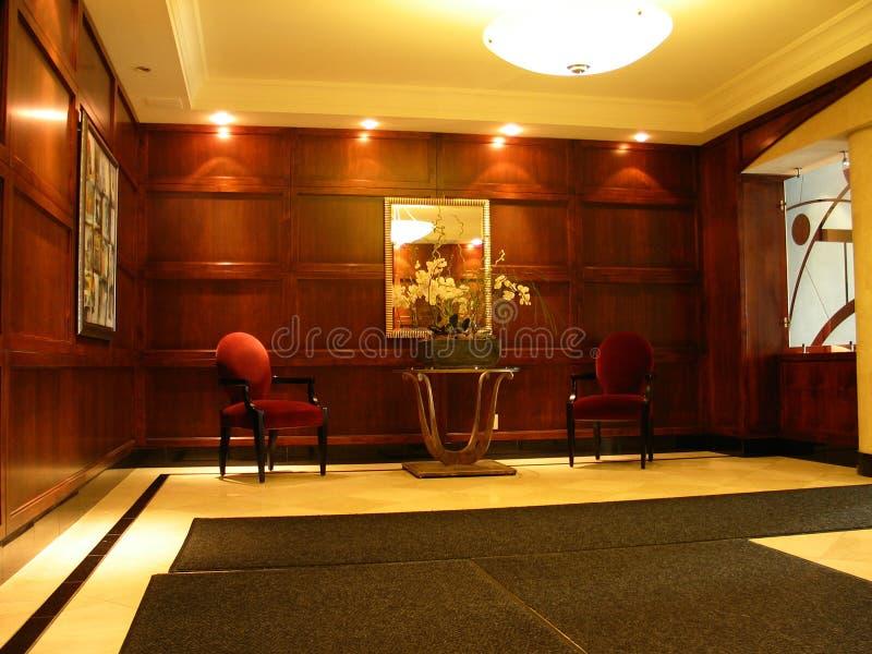 Entrada Do Hotel Foto de Stock Royalty Free