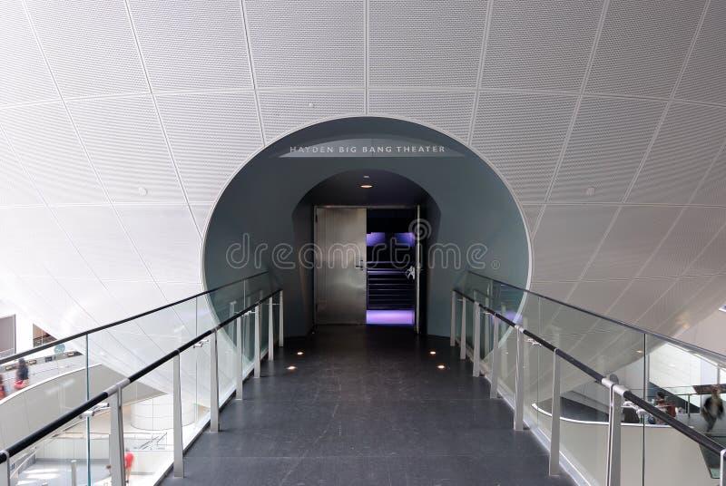 Entrada do Planetarium imagens de stock royalty free