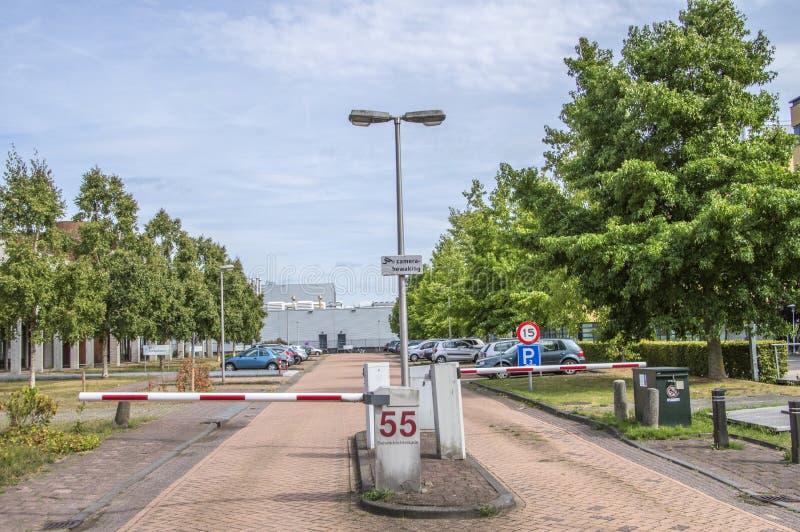 Entrada en la clínica psiquiátrica forense de Inforsa en Amsterdam el 2018 holandés imagenes de archivo