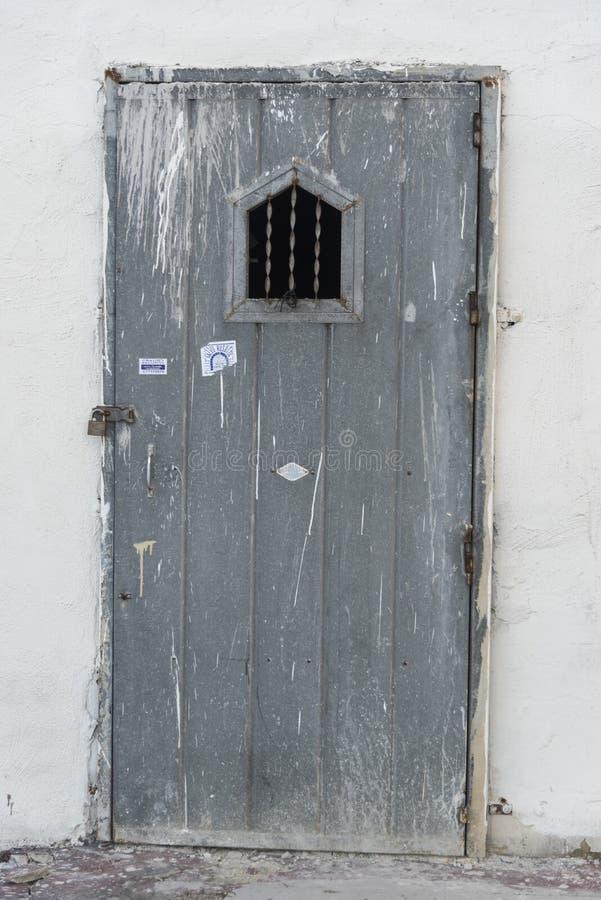 Entrada en una calle en Bugibba Malta fotos de archivo