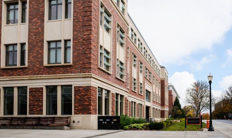 Entrada, estudiante Experience Center, universidad de estado de Oregon, Co imágenes de archivo libres de regalías