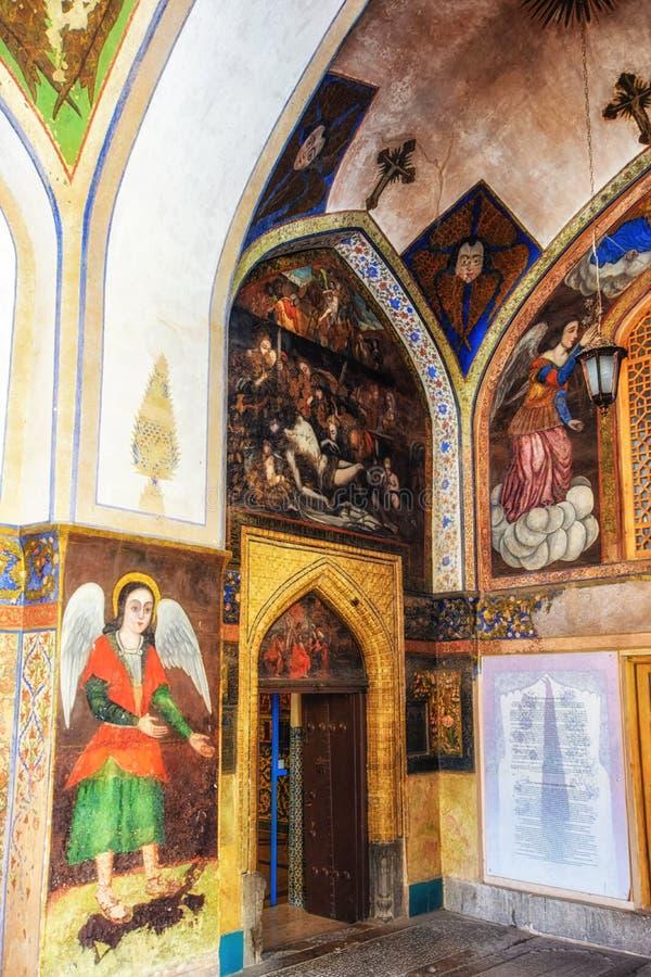Entrada a la catedral santa de Vank de la catedral del salvador, 1664, armenia, imágenes de archivo libres de regalías