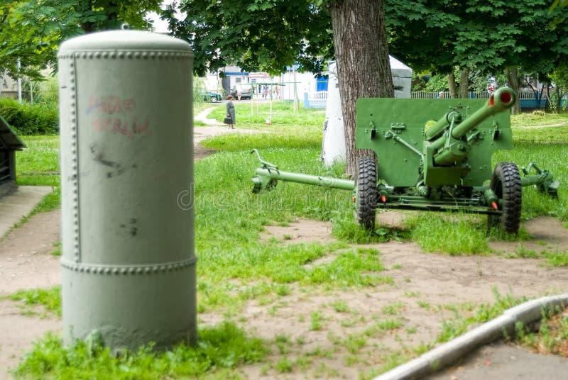 Entrada a la Museo-arcón Kaliningrado Rusia imagenes de archivo