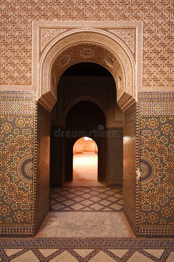 Entrada marroquí imagen de archivo libre de regalías