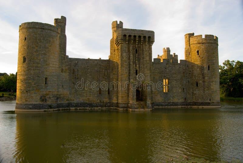Entrada meridional del castillo de Bodiam fotografía de archivo libre de regalías