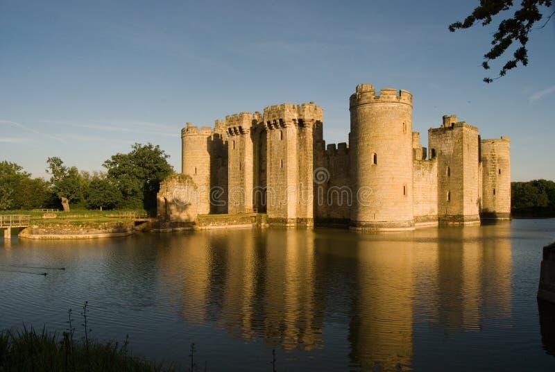 Entrada norteña del castillo de Bodiam fotos de archivo