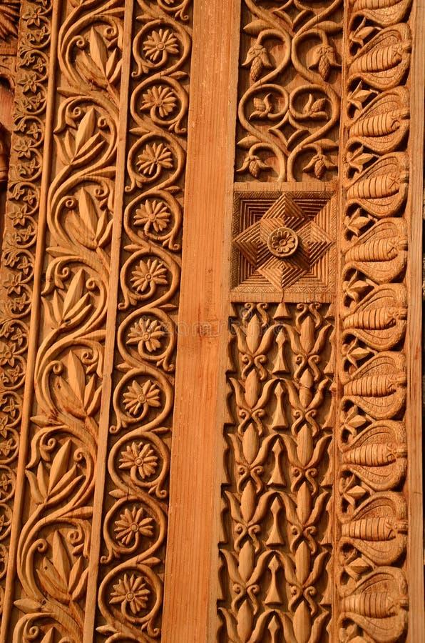 A entrada ornamented ao templo de uma deidade imagem de stock