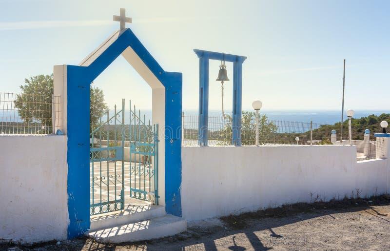 Entrada ortodoxa de la capilla imagen de archivo
