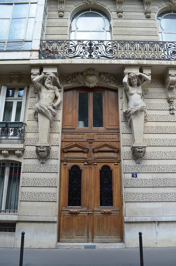 Entrada parisiense fotos de archivo libres de regalías