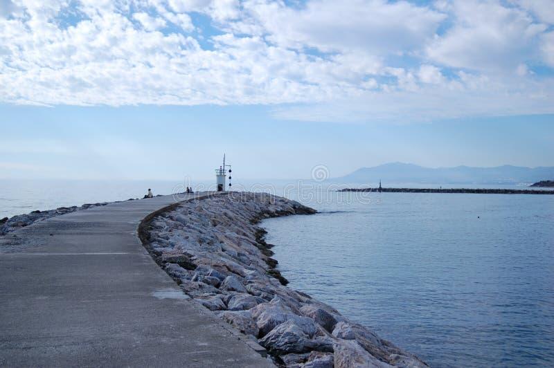 Entrada portuaria Cabo Pino fotografía de archivo libre de regalías