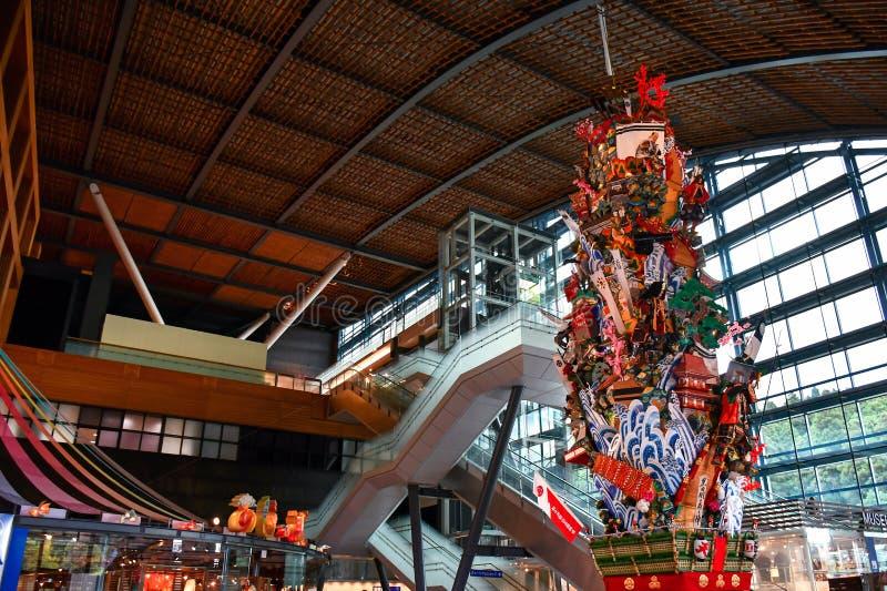 Entrada principal do Museu Nacional de Kyushu imagens de stock