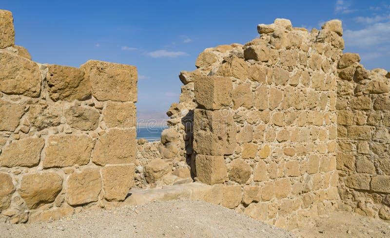 Entrada a Roman Fortress antigo foto de stock royalty free