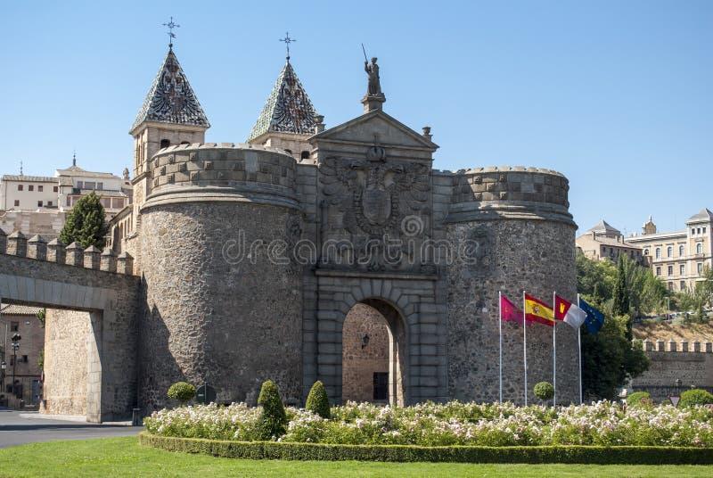 Entrada a Toledo na Espanha fotografia de stock