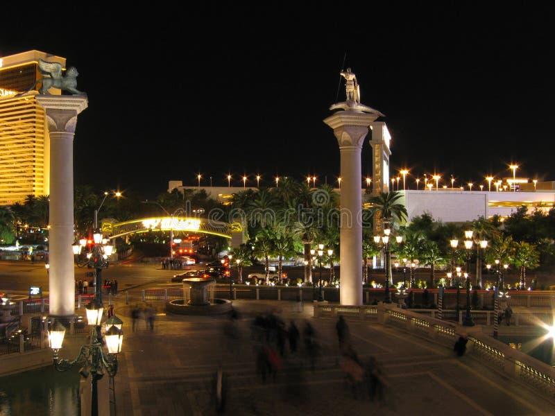A entrada Venetian do casino do hotel, Las Vegas, Nevada, EUA fotografia de stock