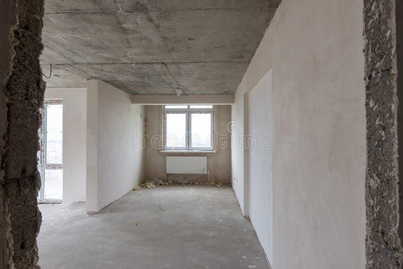Entradas en el nuevo edificio, la entrada al cuarto fotos de archivo