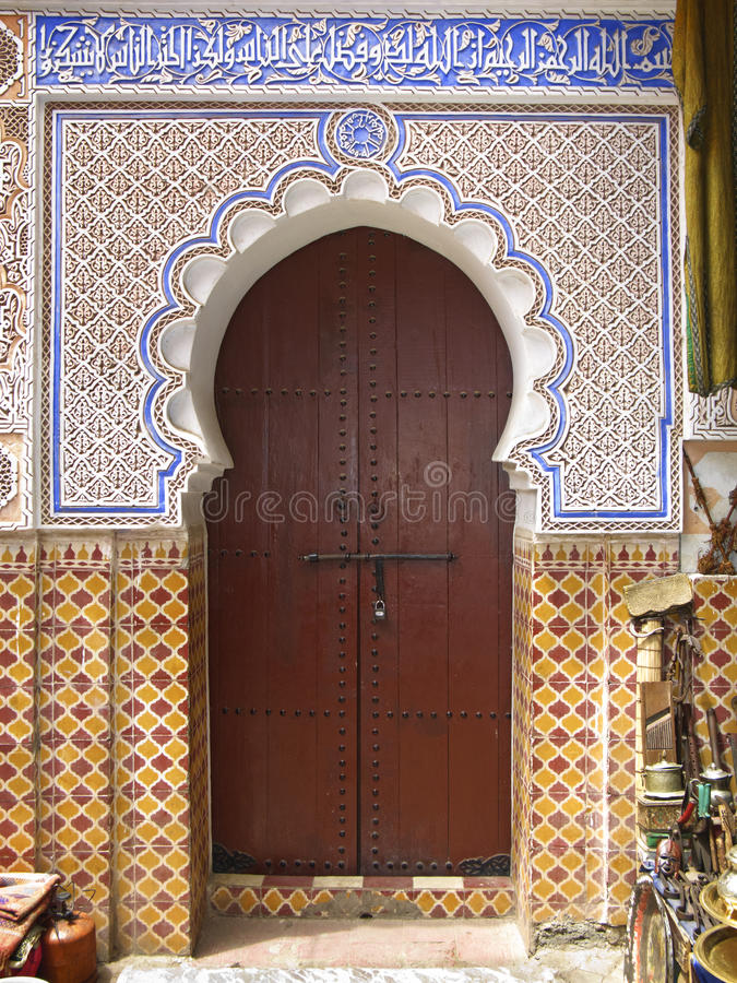Download Entrance stock image. Image of africa, marrakech, morocco - 18507457