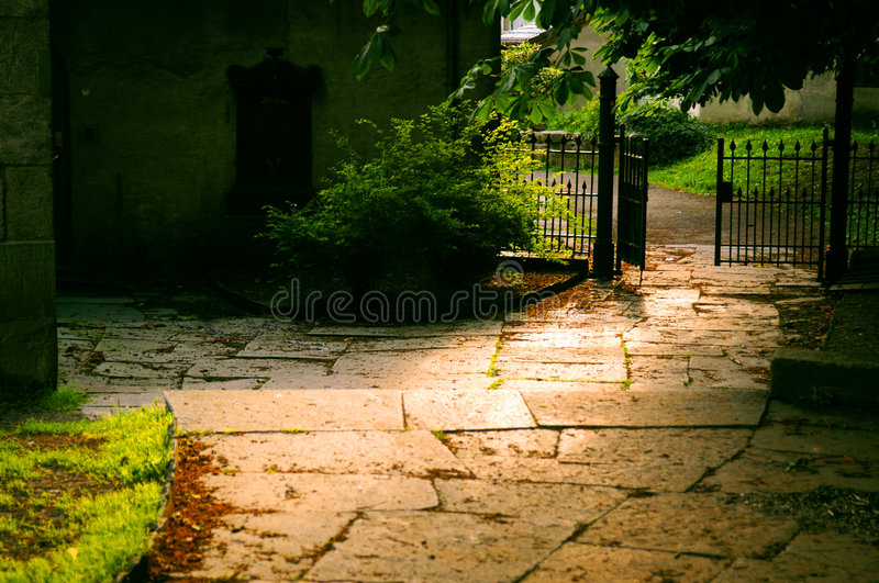 Entrance royalty free stock images