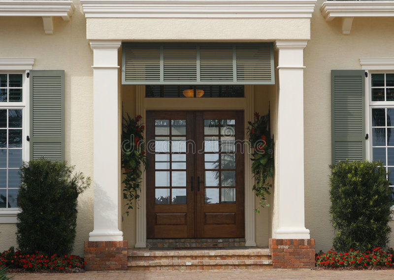 Entrance - Architectural Details royalty free stock images