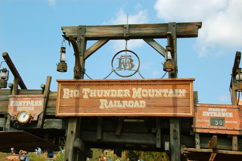 Entrance for Big Thunder Mountain