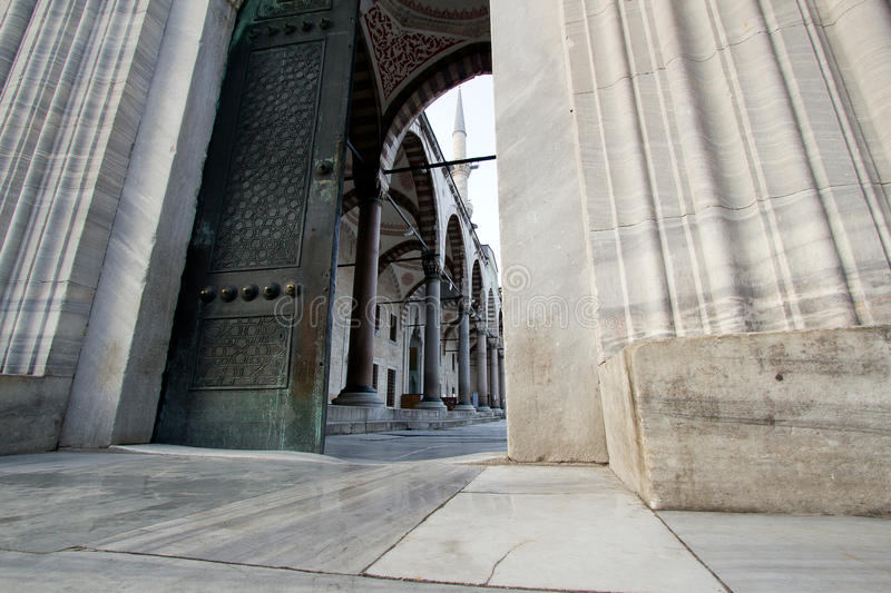 Download Entrance Into Blue Mosque, Istanbul Stock Photo - Image of golden, dome: 23025808