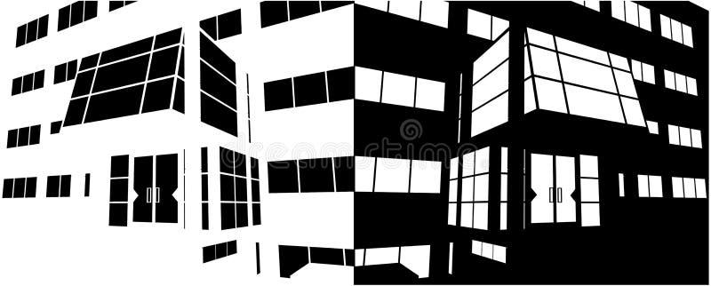 Download Entrance Of Business Building Negative Vector 02 Stock Vector - Illustration: 18356751
