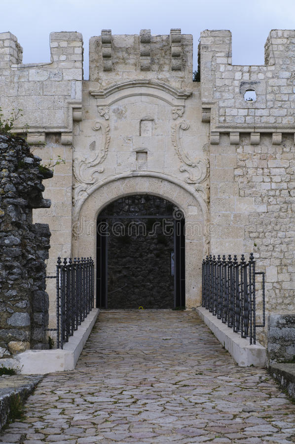 Download Entrance Of A Castle Stock Photo - Image: 19994940