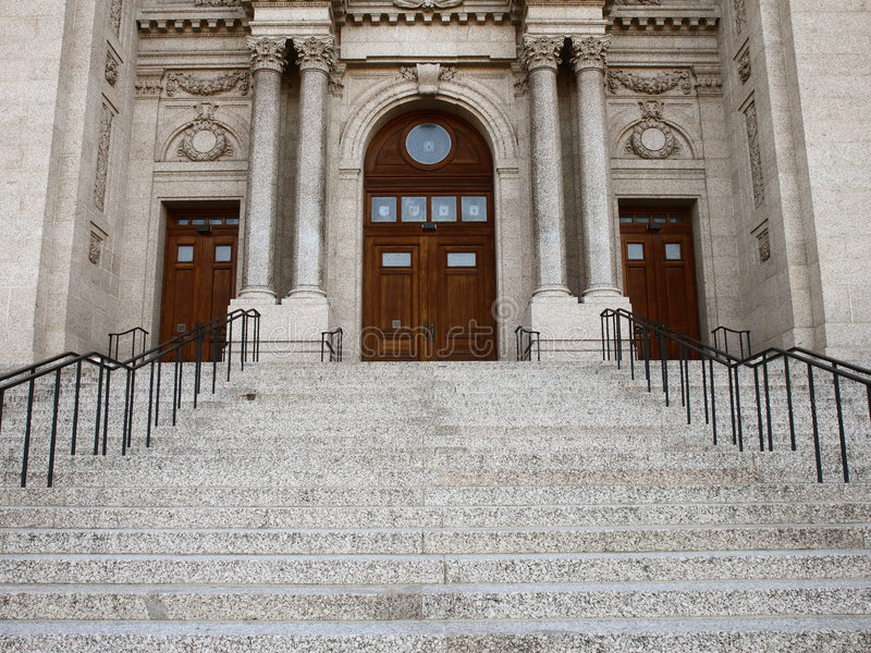 Download Entrance of the Cathedral stock photo. Image of doors - 3637740