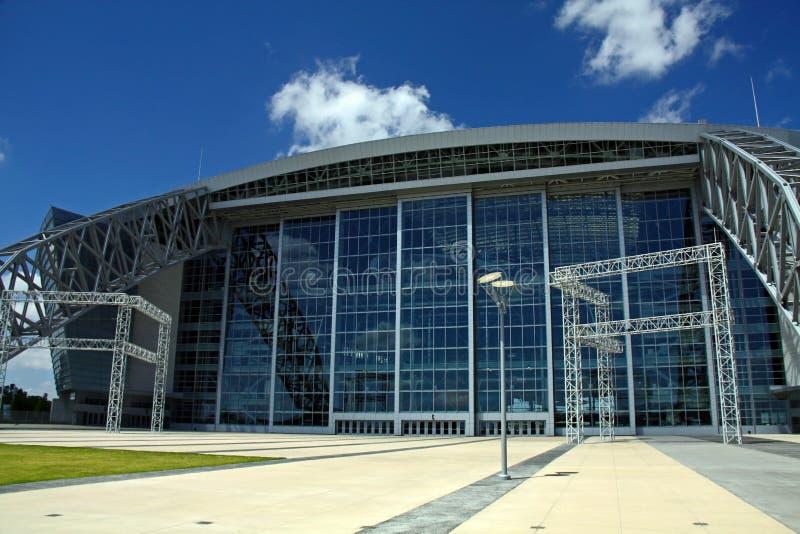 Entrance of Cowboys Stadium royalty free stock photo