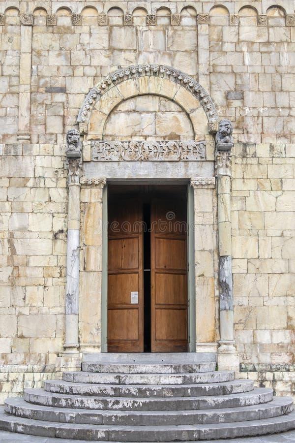 Free Entrance Door Of Barga Castle Stock Image - 164243501