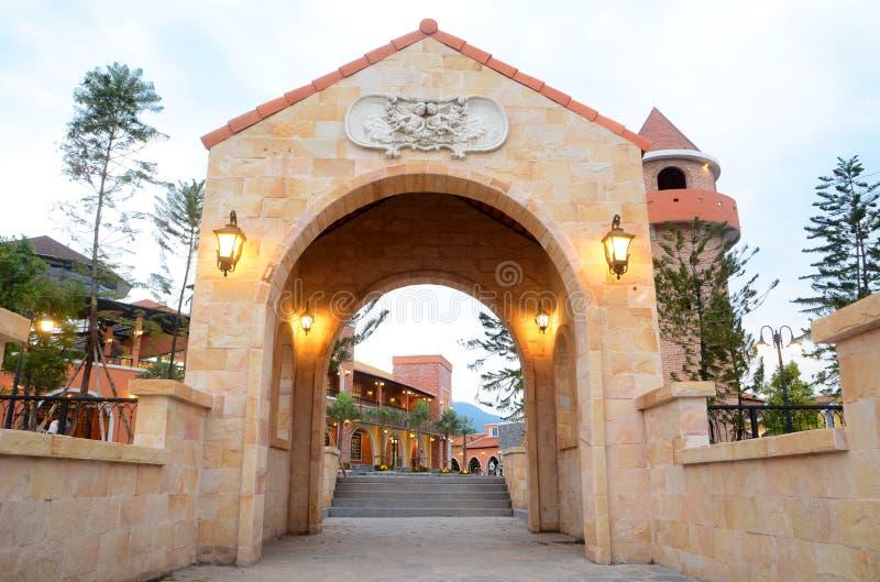 Entrance gate royalty free stock photos