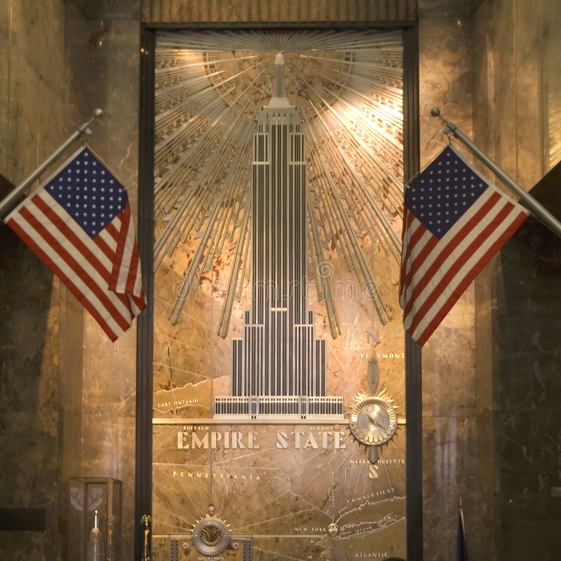 Free Entrance Hall Of Empire State Building Royalty Free Stock Photography - 5633307
