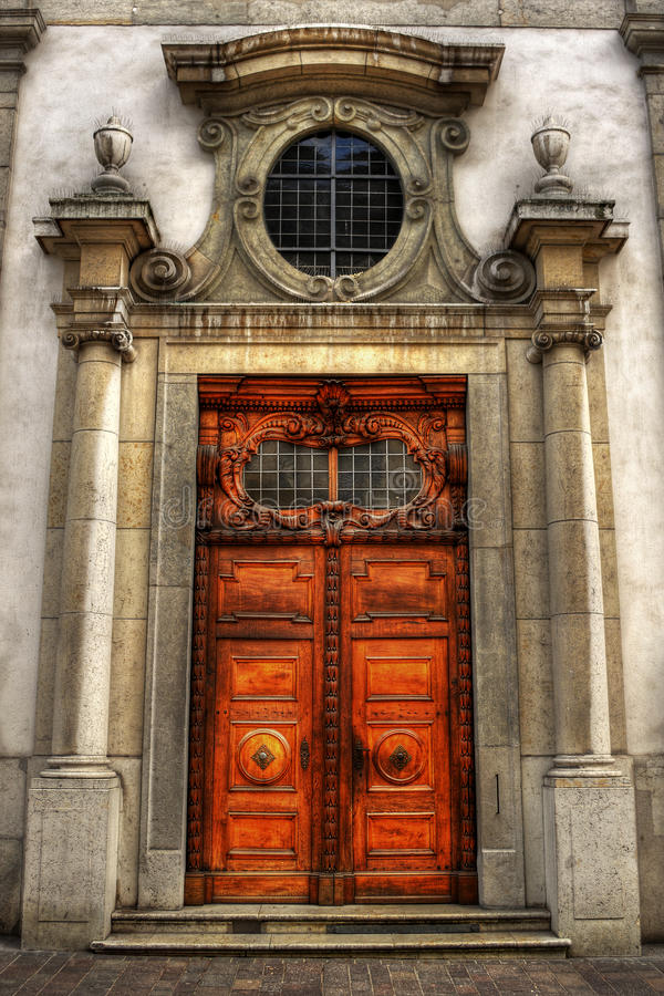 Entrance HDR stock photography