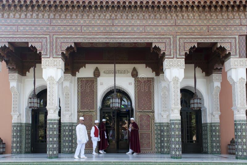 Entrance Hotel La Mamounia Marrakech royalty free stock photos
