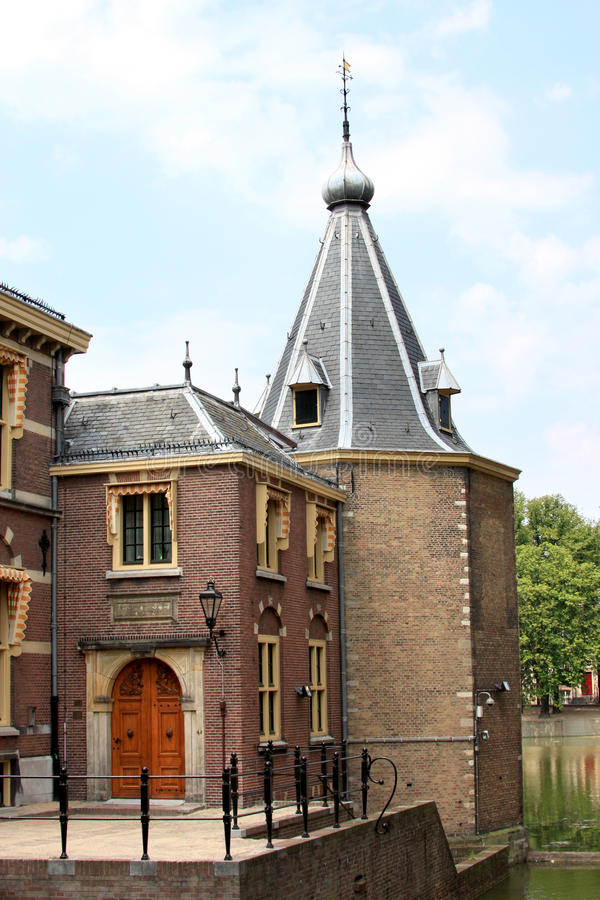 Download Entrance Of The Little Tower In The Hague, Holland Stock Photography - Image: 15359542