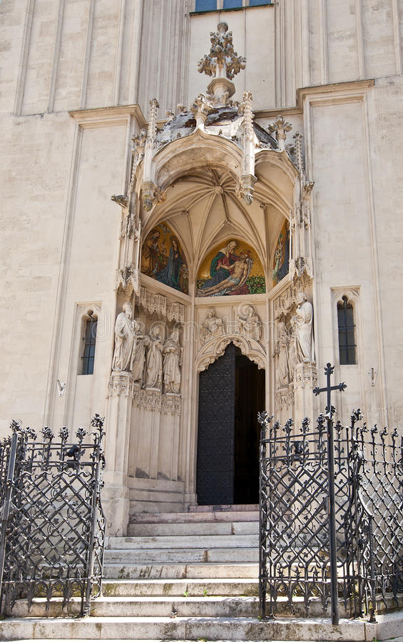Entrance Of Mary At The Shore Church (1414). Vienna, Austria Royalty Free Stock Image