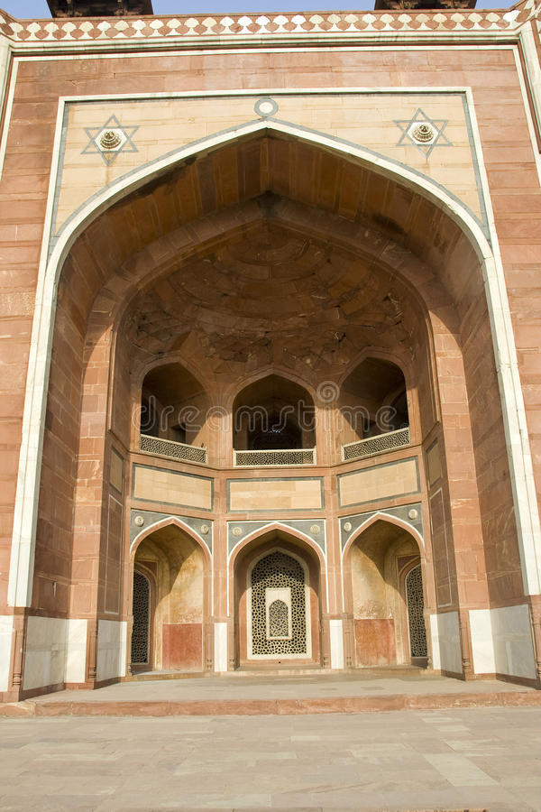 Free Entrance Of Humayun S Tomb Stock Photography - 40820662