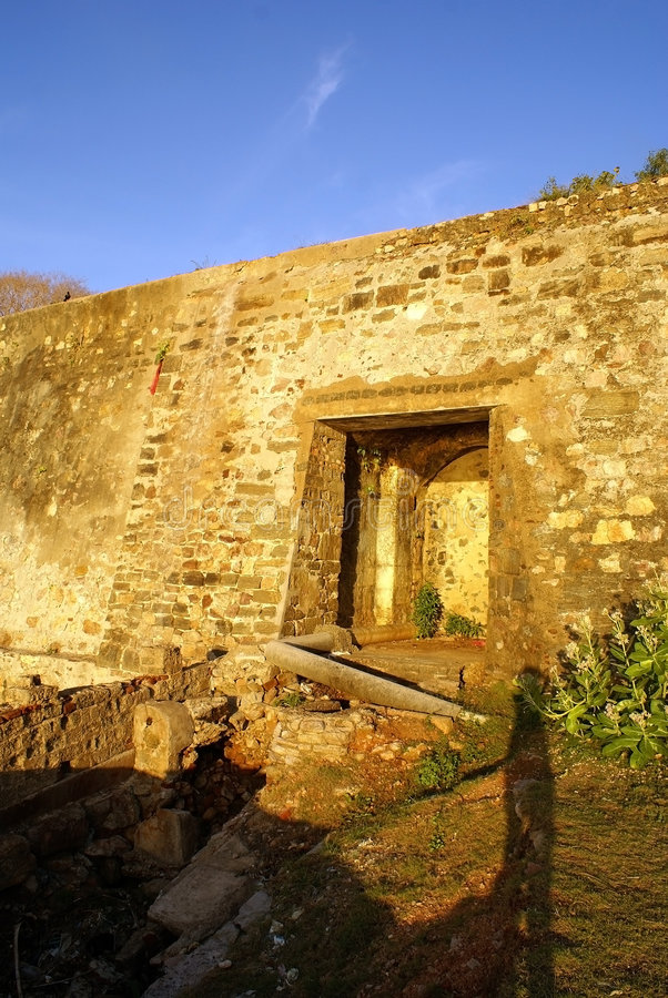 Free Entrance Of The Fort Stock Photos - 2989873