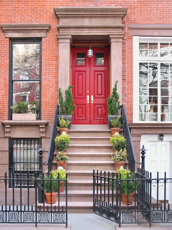 Download Entrance With Ornate Railings And Gate Stock Image - Image of neighborhood, classic: 4530239