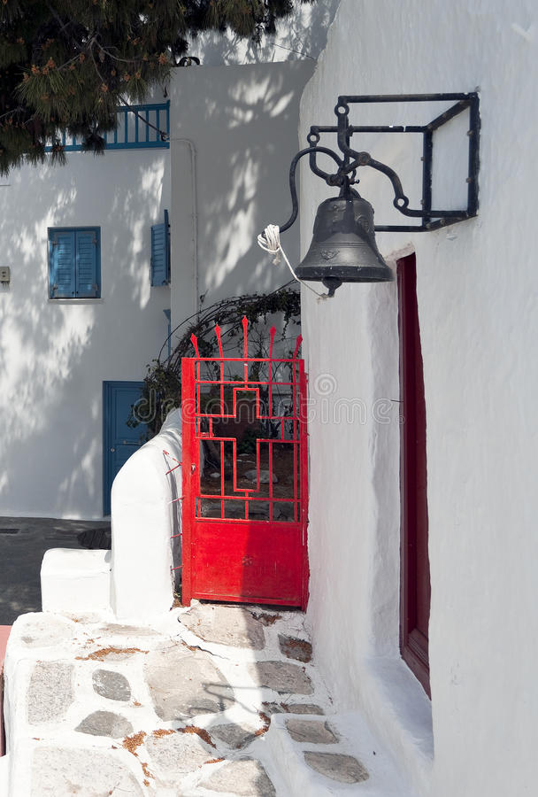 Download Entrance with red door stock image. Image of culture - 24648975